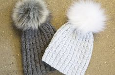 Montreal – Luksus hue med stor pompon Montreal, Hue, Winter Hats, Unisex, Shorts, Fashion, Threading, Moda, La Mode