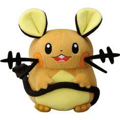 Buy New Takaratomy Pokemon X & Y Plush Doll - N-05 - Dedenne ...