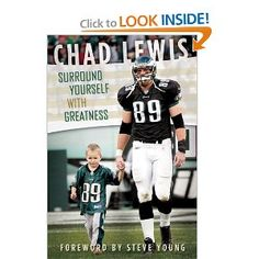 I loved reading this book more than I thought. I had the opportunity to hear Chad speak recently and was then inspired to read his book. I couldn't put it down. I was very inspired by his insights into what makes a great life. I loved reading about the amazing experiences he has had and realized all of us whether we are football players or moms are surrounded by greatness.