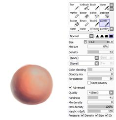 SAI brush settings by BrandiMuffin.deviantart.com on @deviantART
