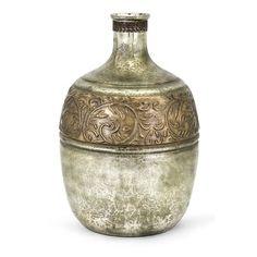 Bloomsbury Market Kym Brown/Silver Glass Vase