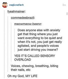 good to know im not the only one. Especially smacking and kissing, THOSE ARE THE WORST SOUNDS EVER