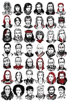 42 Game of Thronesportraits