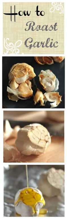 How to Roast Garlic with Step by Step Photos