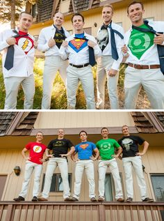 I'm such a nerd, but I want these for my bridesmaids!!! It's my girls that are my superheroes!