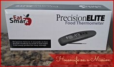 Housewife on a Mission: EatSmart Elite Thermocouple Food Thermometer Review {And a Giveaway}!