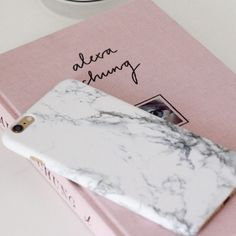 NEW Stylish white marble iPhone 6 PLUS hard case Beautiful white and gray marble design. Design wraps around to the edges. Nice, hard matte plastic. Price is for 1 case. All orders come with a free gift! no trades Accessories Phone Cases