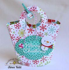 Santa Express: DIY Mini Gift Bag by Aimee Kidd from Doodlebug Design using the new Santa Express collection