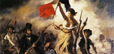 """Eugène Delacroix """"Liberty Leading the People"""" Oil on canvas Romanticism Located in the Musée du Louvre, Paris, France The painting commemorates the July Revolution of which. French History, Art History, European History, History Facts, Liberty Leading The People, Eugène Delacroix, Classic Paintings, Art Paintings, French Revolution"""