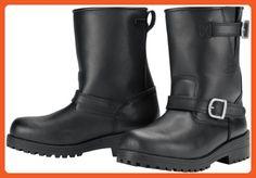 Tour Master Vintage 2.0 Road Men's Leather Street Bike Motorcycle Boots - Black / Size 8 - Boots for women (*Amazon Partner-Link)