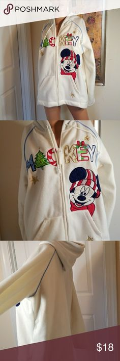 💋3/$24💋DISNEY MICKEY MOUSE ZIP DOWN FLEECE Excellent condition.   💋3 for $24💋 BUNDLE any 3 items (listed 3 for $24), IGNORE the bundle price & OFFER $24 🌺See mannequin listing for size reference.   Also CHECK OUT my 🦄3 for $15🦄, ⚘3 for $50⚘ & ♥️10 for $10♥️ sale!  Why SHOP MY Closet? 💋Smoke/ Pet Free 💋OVER 1000 🌟🌟🌟🌟🌟RATINGS 💋POSH AMBASSADOR &TOP 10% Seller  💋TOP RATED 💋 FAST SHIPPER  💋BUNDLES DISCOUNT 💋EARN VIP DOLLARS W/ EVERY PURCHASE ❤HAPPY POSHING!!! 💕 Disney…