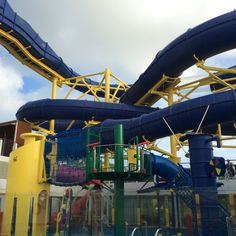The water slide #NCL Escape
