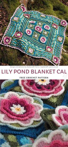 Crochet Quilt, Crochet Blocks, Knit Or Crochet, Crochet Motif, Crochet Crafts, Crochet Flowers, Crochet Projects, Free Crochet, Crochet Blankets