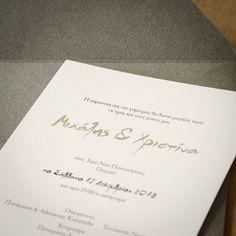 Προσκλητήριο Γάμου MyMastoras, με εκτύπωση μαύρο μελάνι και ασημοτυπία τα ονόματα ! #mymastoras #invitations #wedding #love #foil Place Cards, Wedding Invitations, Place Card Holders, Wedding Invitation Cards, Wedding Invitation, Wedding Announcements, Wedding Invitation Design