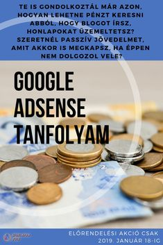 Minden, amit tudni érdemes az AdSense rendszeréről!   Egy módszer, ami mindenki számára elérhető. Magyar nyelven, Magyarországon elérhető módszerekkel.  Sőt még ennél is több, hiszen a két részes tanfolyamból egy teljes részt annak szentelek, hogyan lehet felépíteni egy olyan honlapot, amit sokan látogatnak, hogy a leghatékonyabban lehessen kihasználni. Minden, Keto, Google