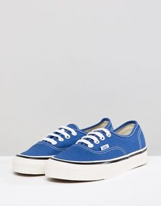 c23bc4da0ed Vans Anaheim Authentic Sneakers In Og Blue