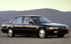 1991 Honda Accord EX  Black with Tan interior, Moon Roof, Power windows & locks, Sports Shift, CD