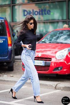 Barbara Martelo Street Style Street Fashion Streetsnaps by STYLEDUMONDE Street Style Fashion Blog