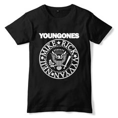 The Young Ones RAMONES Inspired T-Shirt
