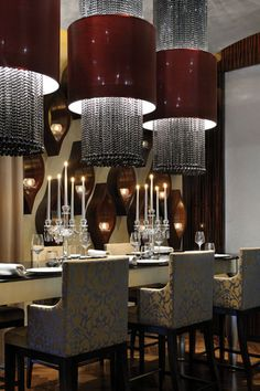 Restaurant at the One & Only The Palm, Dubai by WA International Design