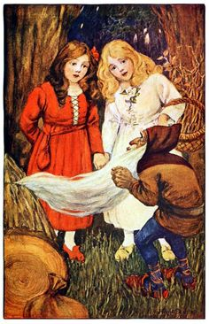 Snow White & Rose Red by Hope Dunlap