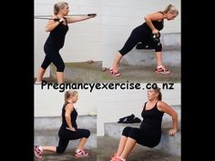Pregnancy Exercise: Second Trimester 20 weeks -Twin Pregnancy do these exercises from 14+ weeks #Pregnancy #Pregnancyexercise #fitness