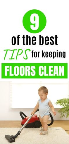 Learn the best mom hacks and mom tips for keeping your floors clean when you have little kids running around. Don't spend all day cleaning when you can just do these simple things that will make your life easier. Speed Cleaning, House Cleaning Tips, Cleaning Hacks, Floor Cleaning, Let It Loose, Thing 1, Kids Running, Kids And Parenting, Parenting Hacks