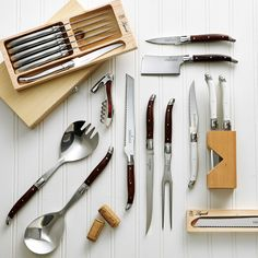 Holiday Gift Guide, Holiday Gifts, Steak Knives, Store, Xmas Gifts