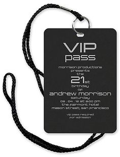 VIP Pass – Bar and Bat Mitzvah Invitation – Custom Wedding, Bar Mitzvah and Bat Mitzvah Invitations Vip Pass, 13th Birthday Parties, 16th Birthday, 21st Birthday Themes, Birthday Ideas, Festa Rock Roll, Deco Cinema, Sweet 16 Invitations, 21 Birthday Invitations