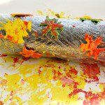 Rolling+Pin+Fall+Leaf+Painting
