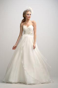 Watters Brides Anouk Gown    www.watters.com Bottom!