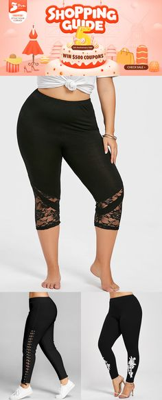 fa710a34abcea Free shipment worldwide, up to 70% off, Rosegal plus size bottoms leggings  pants