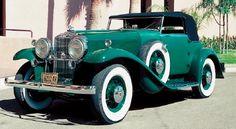 1932 Stutz DV32 Super Bearcat convertible