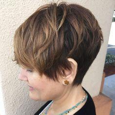 Pixie Haircut For Mature Women