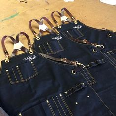Custom aprons for Whiskey Six BBQ