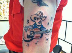 western singer tattoo | Flickr - Photo Sharing!