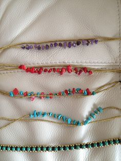 Pick your lucky anklet handmade craft jewerly designer pieces unique sexy item $12.00