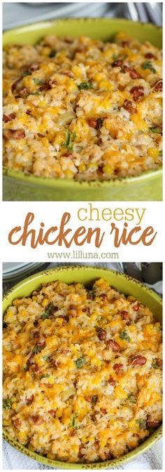 Cheesy Chicken Rice