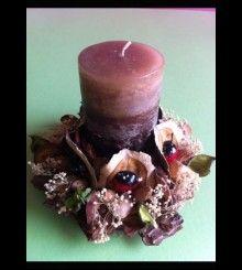 Πασχαλινό Χειροποίητο κερί HM 43 www.bythebook.gr Pillar Candles, Candle Holders, Porta Velas, Candles, Candlesticks, Candle Stand