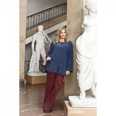 Pantalon n°136 de Burda Style Février 2015 - Mode Plus Jusqu'au 60 - PATRONS