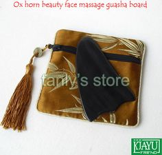 Find More Massage & Relaxation Information about Good quantity! Wholesale & retail big triangle buffalo horn massage guasha board beauty face Scrapping plate with beauty bag,High Quality plate with cup holder,China plate with glass holder Suppliers, Cheap plate bags from Tanly's store on Aliexpress.com