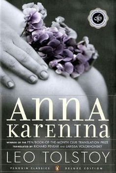 """And it's time again for """"Anna Karenina,"""" a book I've taught more than any other.  So much so, I even wrote a poem about it once.  If I can figure out how, I'll pin it :)"""
