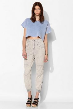 BDG Mid-Rise Structured Jogger Pant