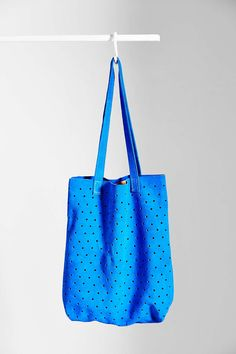 Pine + Boon Suede Dot Tote Bag - Urban Outfitters