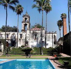Ex-Hacienda de Temixco. Estado de Morelos, México.