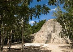 Its not Egypt, but we had the opportunity to climb Nococh-Mul. The tallest pyramid in the Yucatan Peninsula. It was a cool experience:)