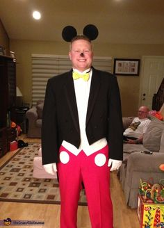Formal Mickey Mouse - Halloween Costume Contest via @costumeworks