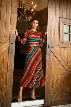 How to Style a Bohemian Maxi Dress Modest Outfits, Classy Outfits, Modest Fashion, Chic Outfits, Dress Outfits, Casual Dresses, Fashion Dresses, Mode Blog, Mein Style