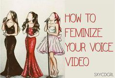 How To Feminize Your Voice ( male to female transgender tips)