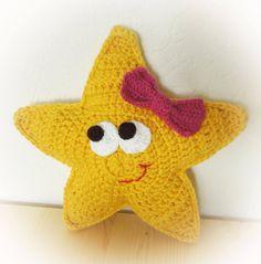 Diesen kleinen niedlichen Schlummer Stern häkeln.     Anleitung Kostenlos  Deutsch  Online Verfügbar     zur Anleitung  Klick Hier